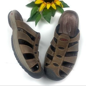 Keen Aruba II Brown Slip on Sandals Outdoor
